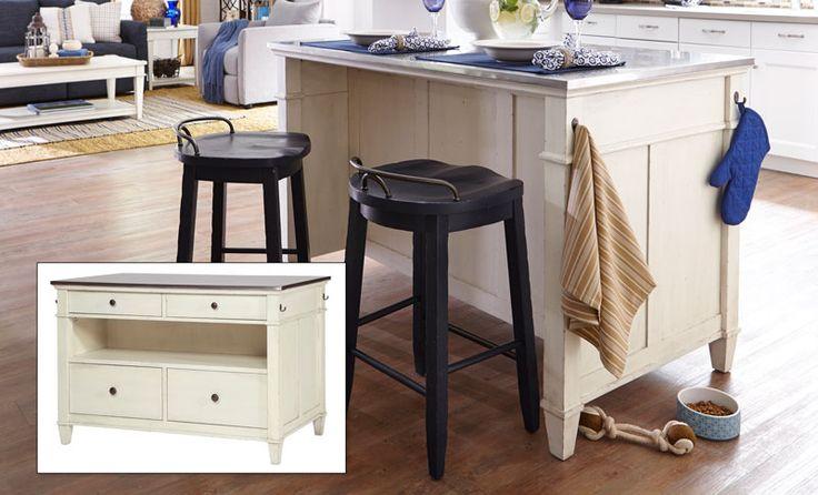 Trisha Yearwood Kitchen Island - Grand Home Furnishings | K6696