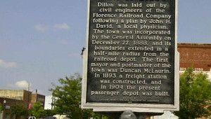 Visit Small Town Dillon and Latta
