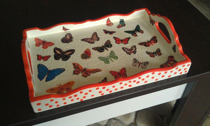 butterfly tray:)