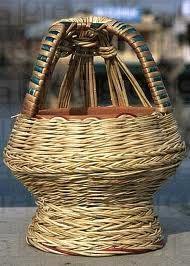 Tradycyjny koszyk do ogrzewania .
