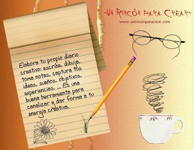 El Blog de Manos y Mente: Tu diario creativo