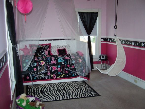 ideas of a 11 year old girls room | 11 year old's room, We decorated my daughter's room while they were ...