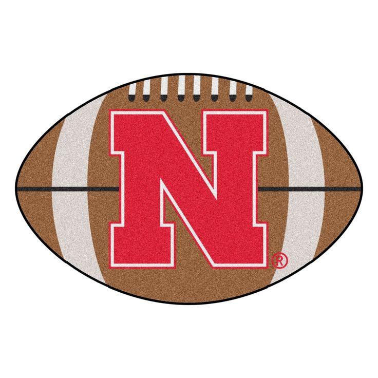 University Of Nebraska Football Mat 20 5 Quot X32 5 Quot N A
