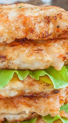 Shrimp Cakes-left out onion. Use wooden spoon full to create cakes. Veg oil.