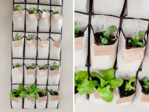 If space is premium but you still want to grow your favorite herbs then try these 17 Hanging Herb Garden Ideas!