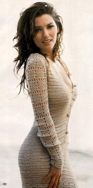 crochet dress ♪ ♪ ... #inspiration_crochet #diy GB…