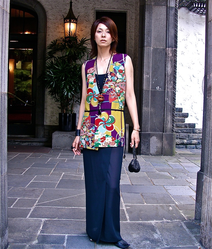 Is reversible kimono and obi made from the best!