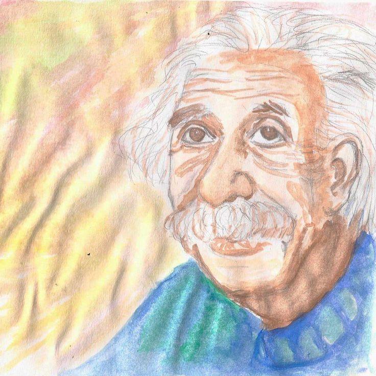 Retratos a lápiz color (acuarelas)