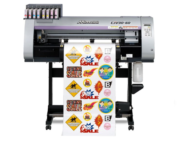 Mimaki CJV30-130 Print and Cut Machine