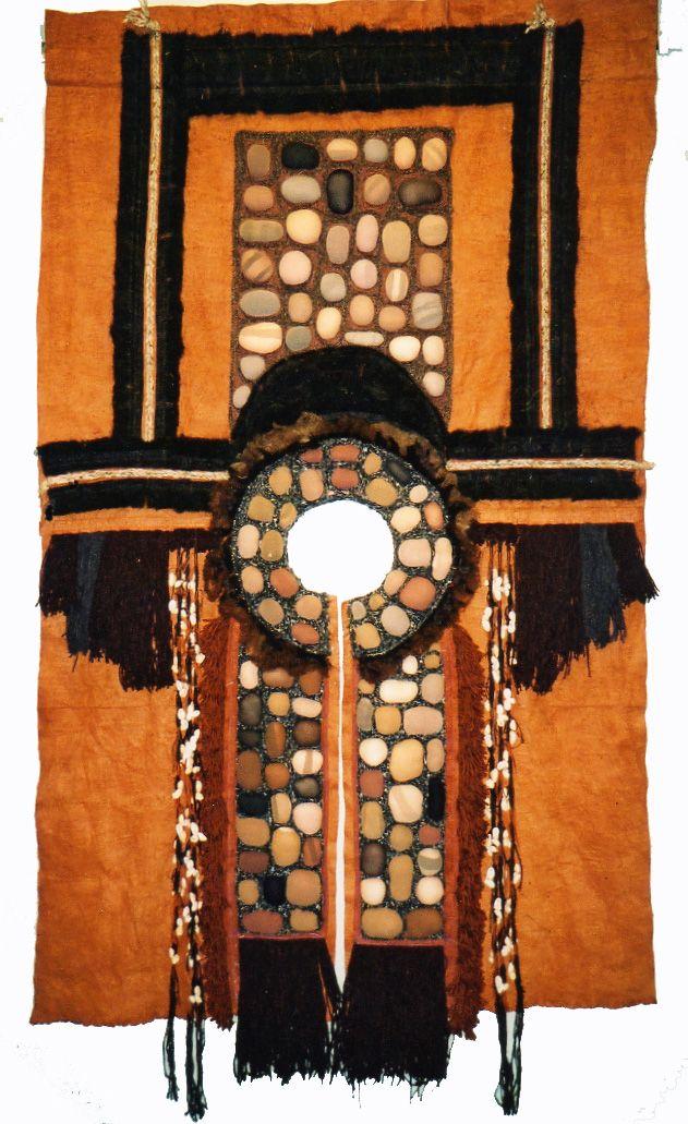 Jan Cook 'Cloak for a Shaman' Textile construction