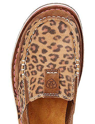 Ariat Women's Earth Brown & Cheetah Cruiser Shoe