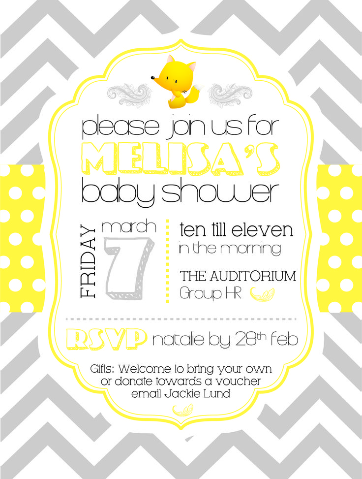 November baby shower theme ideas