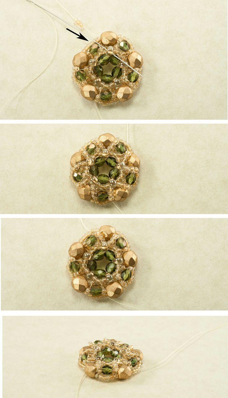 201 best Bead - Pendants - Free Tutorials images on Pinterest ...