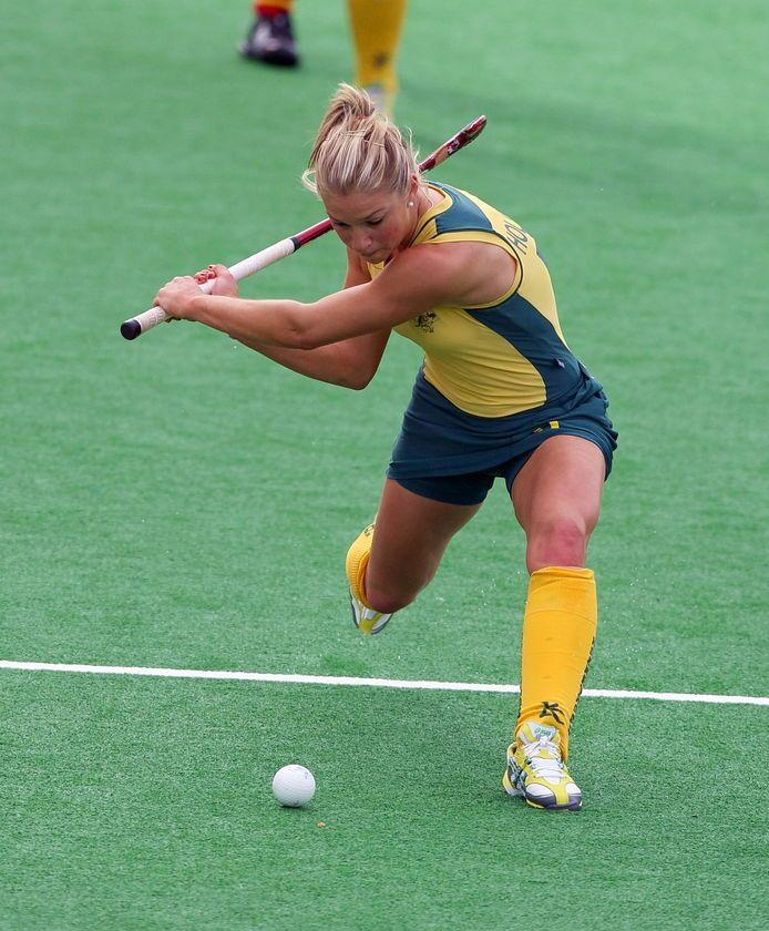 Kate Hollywood est une joueuse Australienne. Elle est très forte et son hit est témoin d'une super forme. Elle jouait aux Jeux Olympiques en 2008