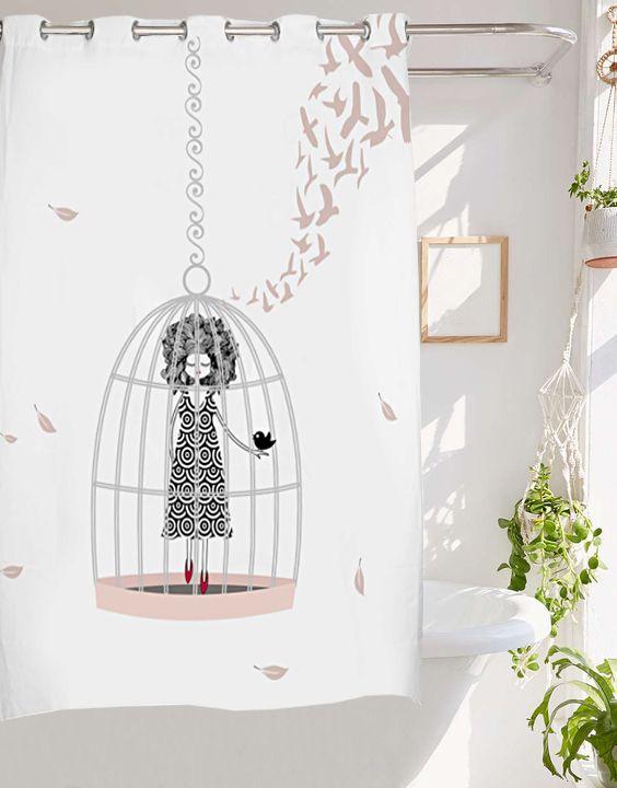 Las 25 mejores ideas sobre cortinas de ducha en pinterest - Cortinas de duchas ...