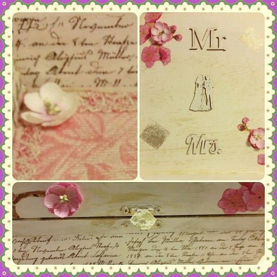 Detail gift box wedding theme