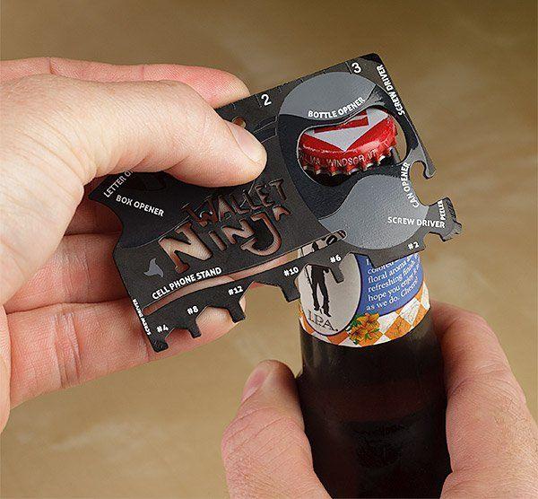 Wallet Ninja 16-in-1 Pocket Multi-Tool - $10