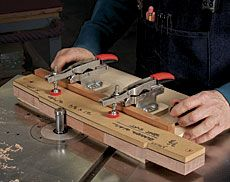 Best 25 woodworking articles ideas on pinterest sketchup free preview smart jig for pattern routing fine woodworking article keyboard keysfo Images