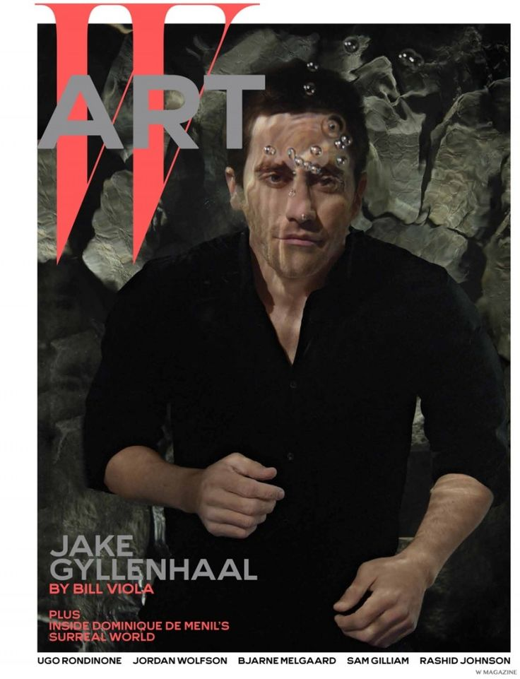 Jake Gyllenhaal Poses Underwater for W Magazine December 2014 Cover Photo Shoot
