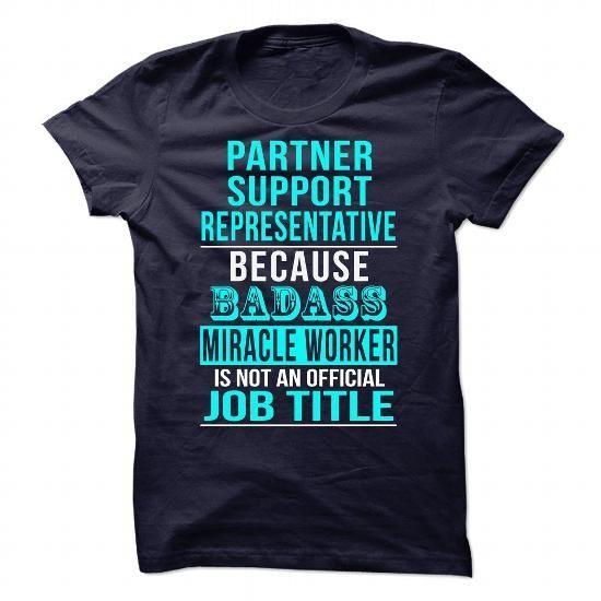 Partner Support Representative - #gift ideas for him #retirement gift. TRY => https://www.sunfrog.com/No-Category/Partner-Support-Representative.html?68278