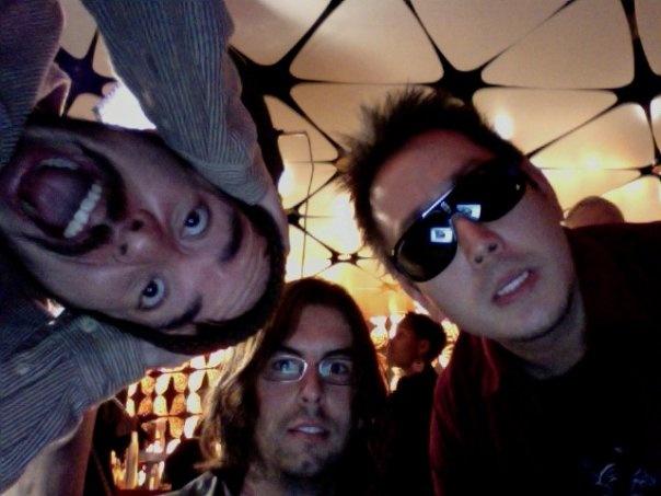 Linkin Park Band (LP): MIke Shinoda Rob Bourdon And Joe Hahn Having Fun