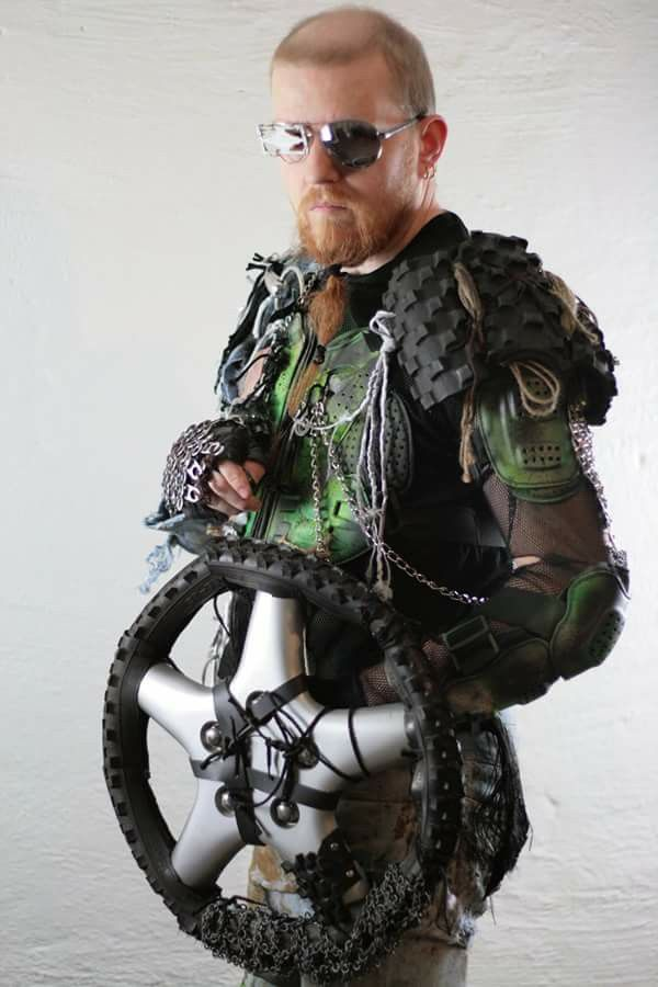 Postapocalypse armor
