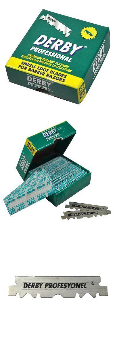 Mens Razor Blades: 1000 Derby Professional Single Edge Razor Blades For Straight Razor -> BUY IT NOW ONLY: $36.38 on eBay!
