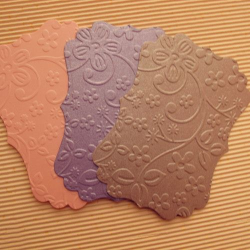 Find More Paper Crafts Information about CC076,Pink Paper Backing Cards with Swirl Edges and Embossed Classic Pattern for Scrapbooking/Card Making/Wedding Decorations,High Quality card record,China card chip Suppliers, Cheap card frame from Decor Specialist on Aliexpress.com