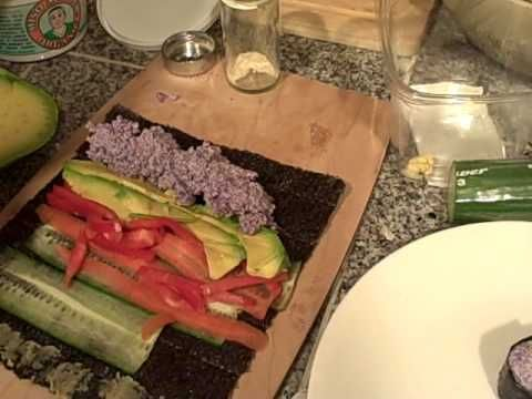 50 best 1 raw food video images on pinterest raw food eat rawfood sushi nori wraps made with purple cauliflower rice forumfinder Image collections