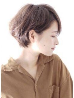 フェミニンショートボブ☆
