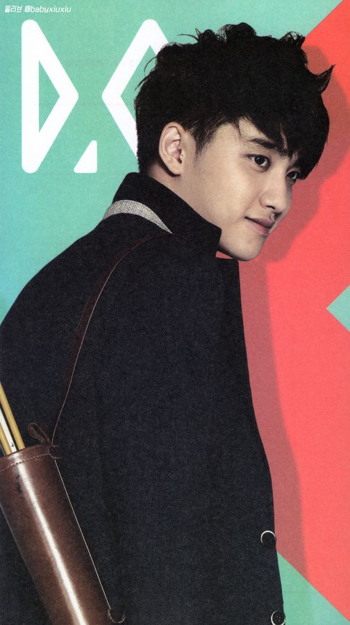HQ [scans] EXO's 2014 Official calendar - D.O.