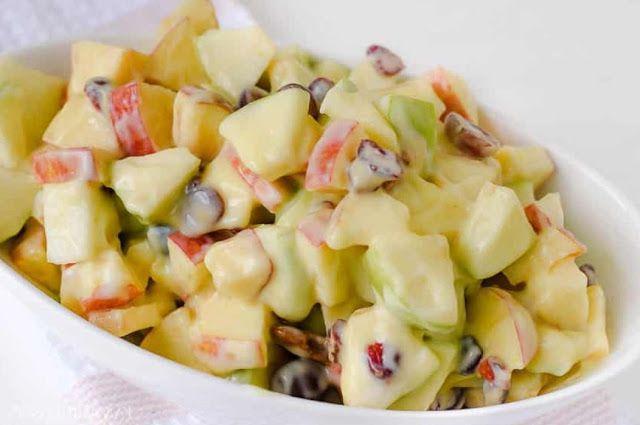 18 Cara Membuat Salad Buah Enak Sederhana Praktis Dan Sehat Salad Buah Resep Salad Resep Masakan Sehat