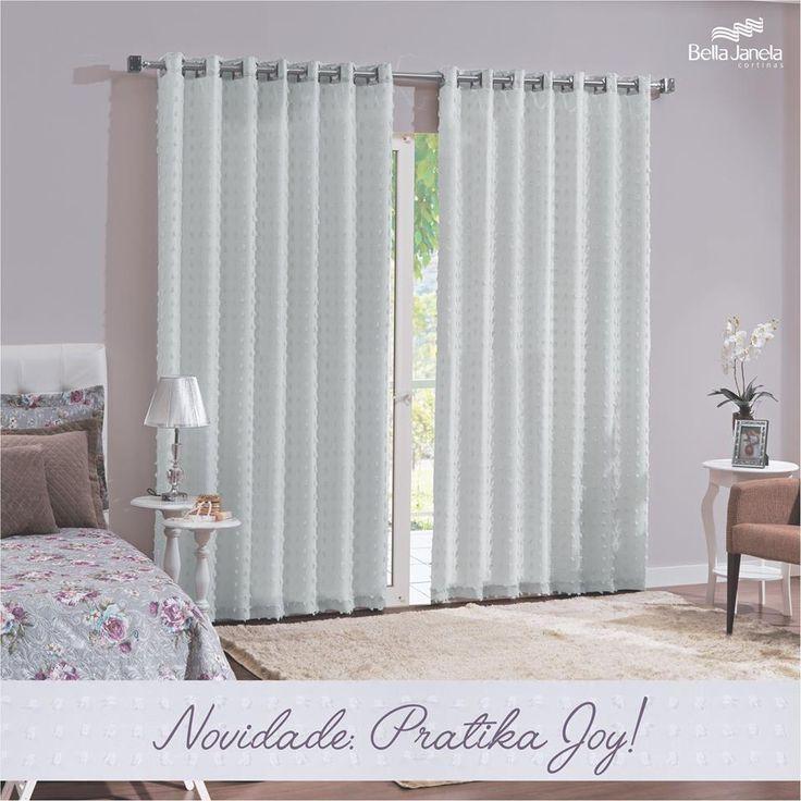 Você já sabia? Agora temos a cortina Joy com forro corta-luz tecido também... #PorUmAmbienteMaisEscurinho