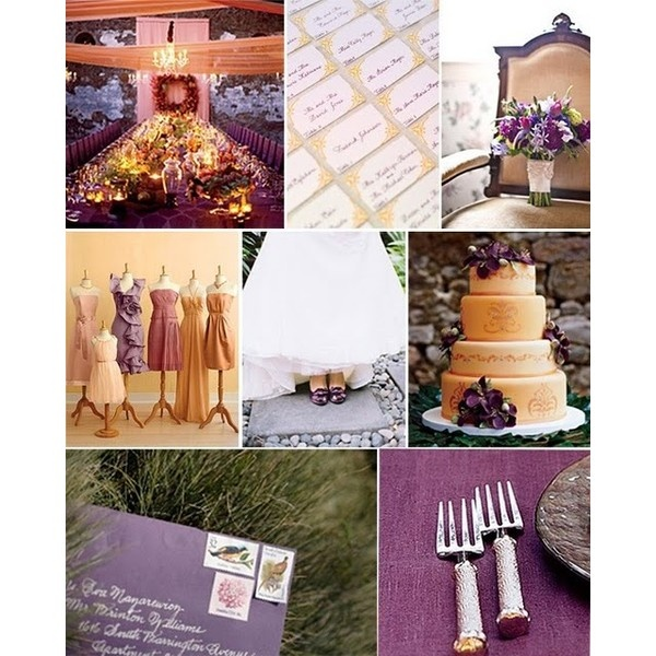 14 Best Images About Plum And Gray Decor On Pinterest: 14 Best Plum And Ivory Wedding Images On Pinterest