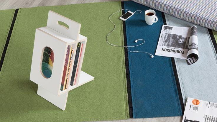 Inquadro / magazine rack / design Paolo Foglini / Formabilio
