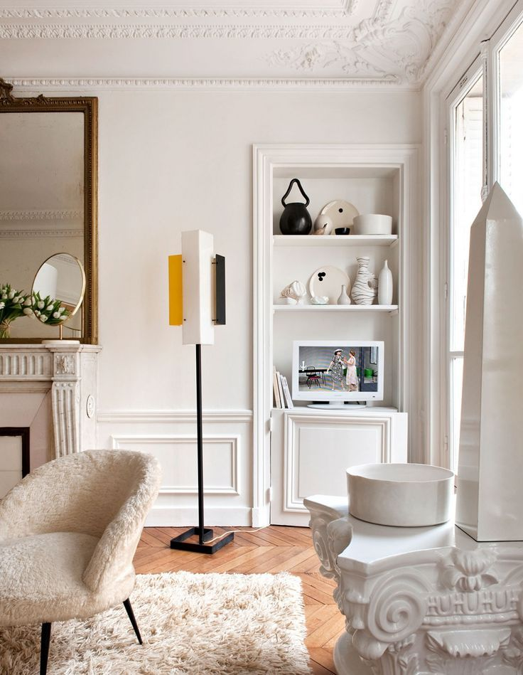 Getting The New French Look Chic Apartment Decor Apartment