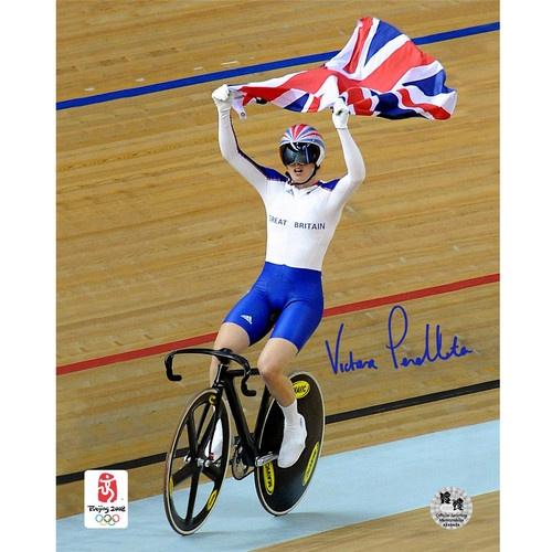 Victoria Pendleton - Beijing 2008 Photo Genuine Autograph - Olympic Memorabilia | eBay