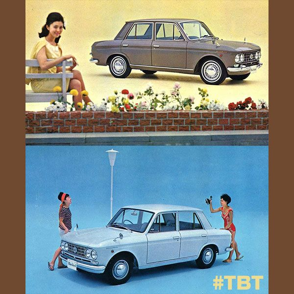 Queens Toyota Dealer: #TBT Check Out This Old Japanese Nissan Bluebird 410