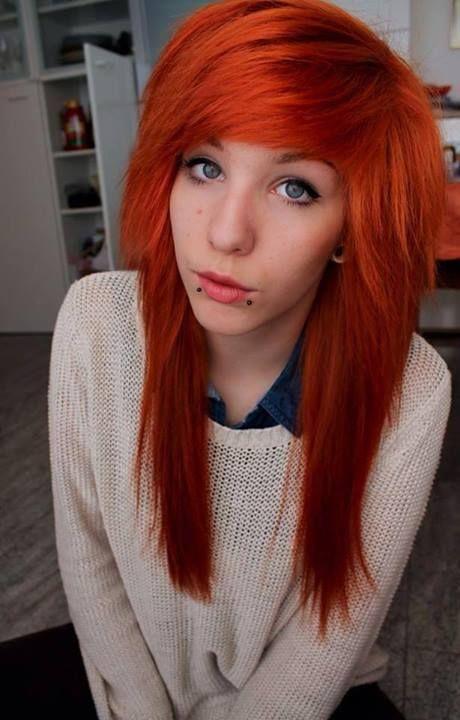 1000+ images about .Orange.emo.scene.hair. on Pinterest ...