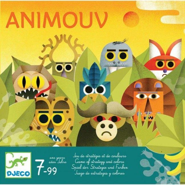 Djeco : Animouv - Castello | Jeux et Jouets