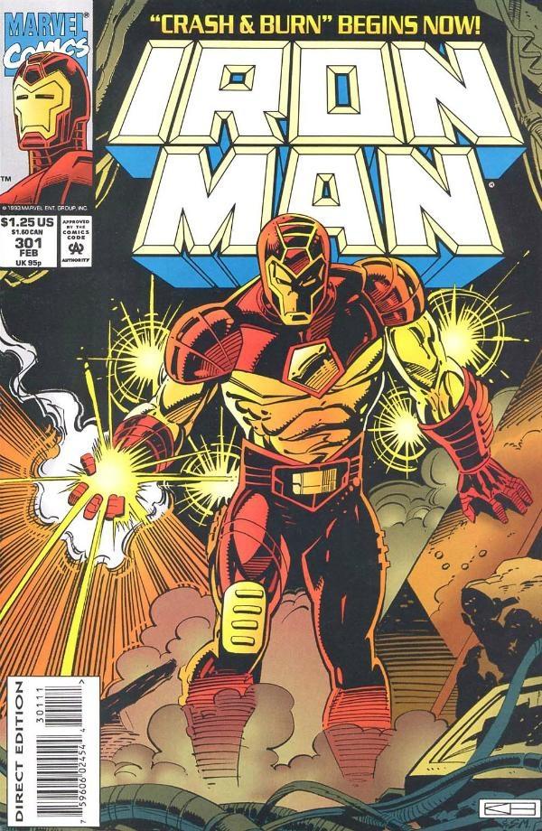 Iron Man 301 February 1994 Issue Marvel