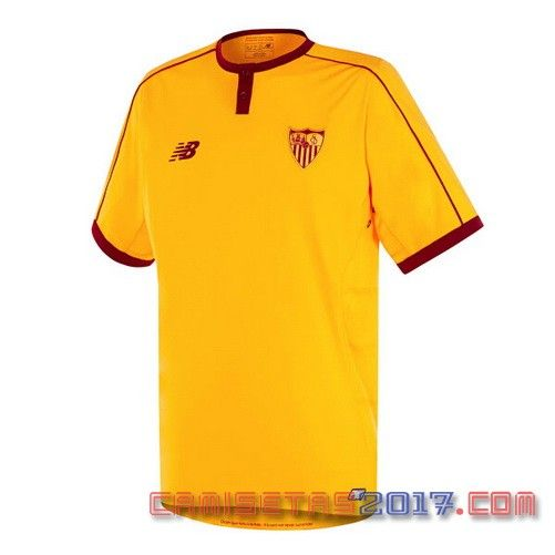 Camiseta tailandia Sevilla 2016 2017 tercera