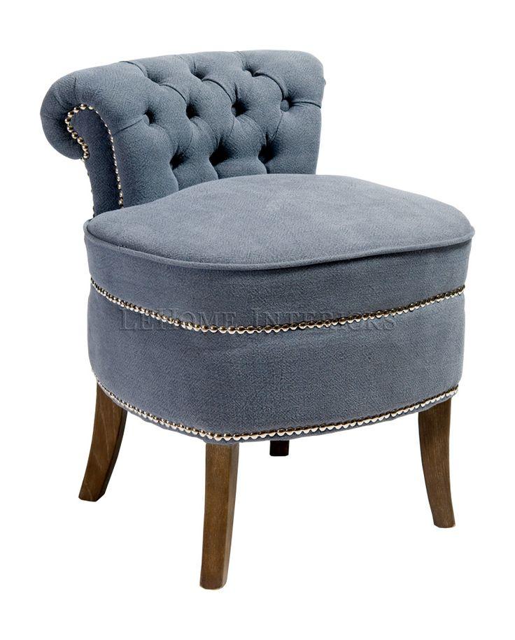 Интерьеры LeHome - мебель в стиле прованс, винтаж, арт-деко - Каталог - Кресла - Harbor Puff Chair A052