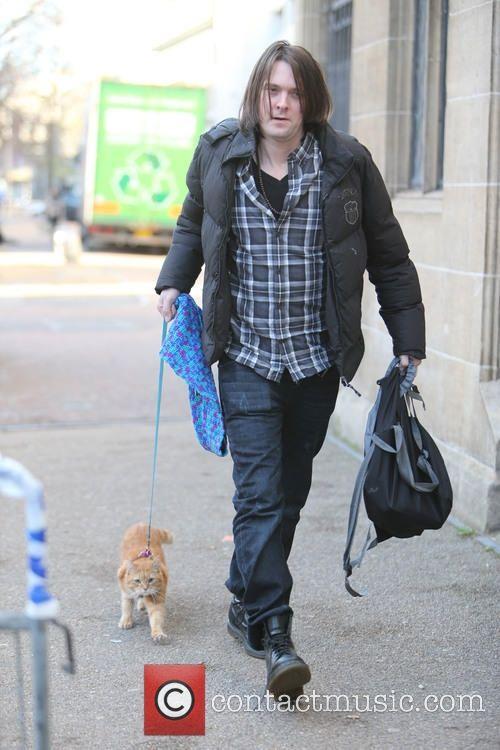 Bild – James Bowen und Bob the Cat London Großbritannien, Mittwoch, 10. …   – Bob und James B.