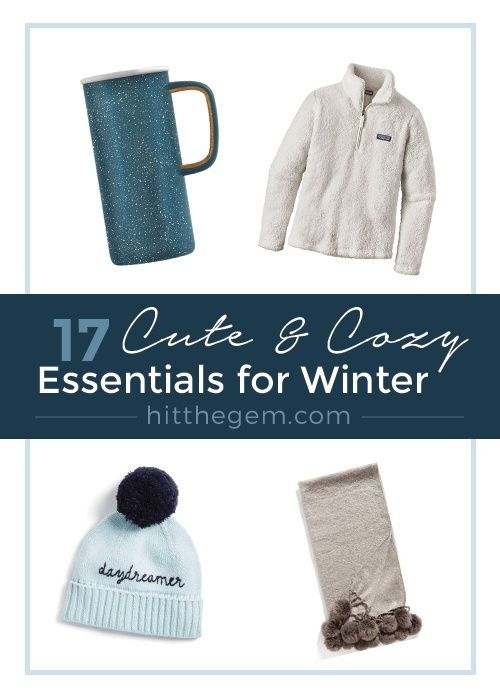 From cozy sweaters and snuggly blankets to warm scarves and chic mugs, here are 17 items you are absolutely going to need in the cold winter weather. #ssCollective #shopthelook #winterstyle #winterwear #winteroutfits #wearitloveit #cozy #sweaterweather #cozysweaters #blanketscarf