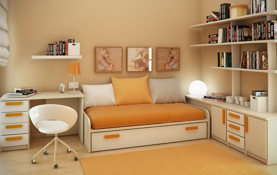 Smart Small Bedrooms for Kids.  Rent-Direct.com - Apartments for Rent in New York, with No Broker's Fee.