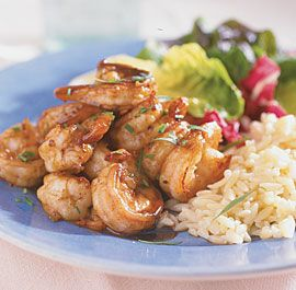 Sautéed Shrimp with Buttery Balsamic Vinegar Sauce