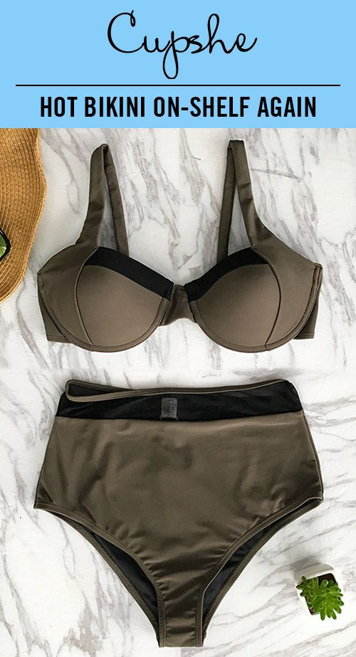 HOT BIKINI ON-SHELF AGAIN! Preparing for a beach leave? This army green bathing suit matches perfectly with best life ideas & feelings. Have some fun in the sun and enjoy the genial sunshine and beach waves! Free shipping & Better service! Check it out!