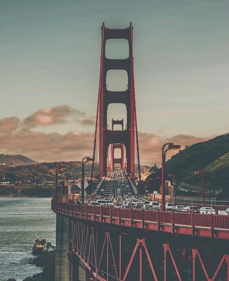 Golden Gate Bride #sanfrancisco #sf #bayarea #alwayssf #goldengatebridge #goldengate #alcatraz #california