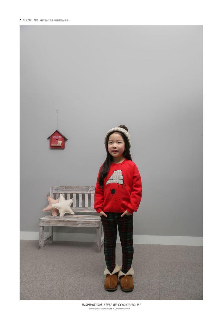 Korea children's No.1 Shopping Mall. EASY & LOVELY STYLE [COOKIE HOUSE] Beanie Bear T-shirt / Size : 5-13 / Price : 23.91 USD #dailylook #dailyfashion #fashionitem  #kids #kidsfashion #tops #longT #Tshirts #TEE #MTM #COOKIEHOUSE #OOTD http://en.cookiehouse.kr/ http://cn.cookiehouse.kr/ http://jp.cookiehouse.kr/